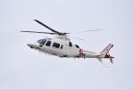 たっしーさんが、鹿児島空港で撮影したユーロテックジャパン A109E Powerの航空フォト(写真)