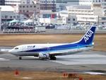 たーしゃんさんが、福岡空港で撮影したANAウイングス 737-5L9の航空フォト(写真)