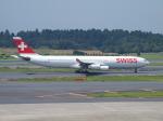 鷹71さんが、成田国際空港で撮影したスイスインターナショナルエアラインズ A340-313Xの航空フォト(写真)