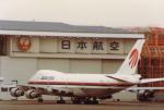 JA8037さんが、羽田空港で撮影した日本アジア航空 747-146の航空フォト(写真)