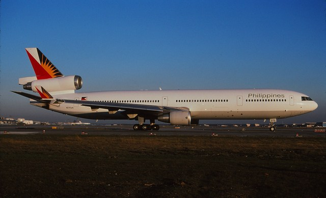 フィリピン航空 McDonnell Douglas MD-11 N275WA フランクフルト国際空港  航空フォト | by Fuseyaさん