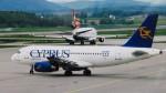 twinengineさんが、チューリッヒ空港で撮影したキプロス・エアウェイズ (〜2015) A319-132の航空フォト(写真)