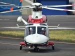 Mizuki24さんが、東京ヘリポートで撮影した横浜市消防航空隊 AW139の航空フォト(写真)