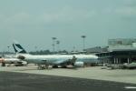 maccha_chaさんが、シンガポール・チャンギ国際空港で撮影したキャセイパシフィック航空 A330-343Xの航空フォト(写真)