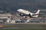 Lucky Manさんが、岡山空港で撮影した日本トランスオーシャン航空 737-4Q3の航空フォト(写真)