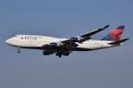 JA8961RJOOさんが、成田国際空港で撮影したデルタ航空 747-451の航空フォト(写真)