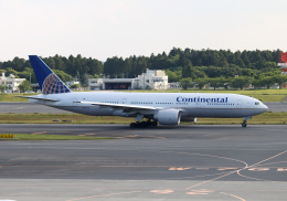 PGM200さんが、成田国際空港で撮影したコンチネンタル航空 777-224/ERの航空フォト(写真)