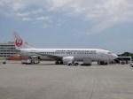 ケロさんが、那覇空港で撮影した日本トランスオーシャン航空 737-4Q3の航空フォト(写真)