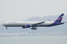 keikei123さんが、香港国際空港で撮影したアエロフロート・ロシア航空 777-3M0/ERの航空フォト(写真)