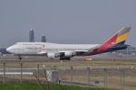 JA8961RJOOさんが、成田国際空港で撮影したアシアナ航空 747-48EMの航空フォト(写真)