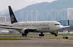 香港国際空港 - Hong Kong International Airport [HKG/VHHH]で撮影されたユナイテッド航空 - United Airlines [UA/UAL]の航空機写真
