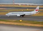 よんすけさんが、中部国際空港で撮影した日本トランスオーシャン航空 737-4Q3の航空フォト(写真)