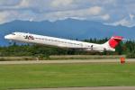フリューゲルさんが、秋田空港で撮影した日本航空 MD-90-30の航空フォト(写真)