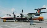 TKOさんが、カルガリー国際空港で撮影したカナダ・リージョナル・エアラインズ DHC-8-102 Dash 8の航空フォト(写真)