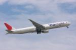 元青森人さんが、成田国際空港で撮影した日本航空 777-346/ERの航空フォト(写真)
