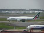 kouchaさんが、成田国際空港で撮影したアリタリア航空 777-243/ERの航空フォト(写真)