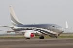たーぼーさんが、羽田空港で撮影したケイマン諸島企業所有 737-7JW BBJの航空フォト(写真)