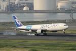 なぞたびさんが、羽田空港で撮影した全日空 767-381/ER(BCF)の航空フォト(写真)
