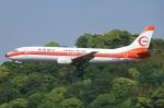 Wings Flapさんが、福岡空港で撮影した日本トランスオーシャン航空 737-446の航空フォト(写真)