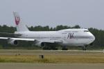 senyoさんが、小松空港で撮影した日本航空 747-346の航空フォト(写真)
