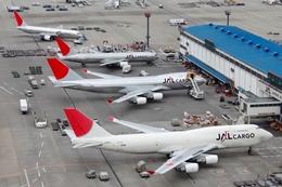 エアポートひたちさんが、成田国際空港で撮影した日本航空 747-446F/SCDの航空フォト(写真)