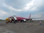 atiiさんが、ナコンパノム空港で撮影したノックエア 737-83Nの航空フォト(写真)
