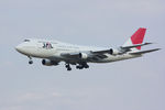 PINK_TEAM78さんが、成田国際空港で撮影した日本航空 747-346の航空フォト(写真)