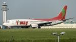 coolinsjpさんが、金浦国際空港で撮影したティーウェイ航空 737-83Nの航空フォト(写真)