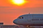 松山空港 - Matsuyama Airport [MYJ/RJOM]で撮影されたアシアナ航空 - Asiana Airlines [OZ/AAR]の航空機写真