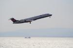 鱚楽鯛遊さんが、中部国際空港で撮影したアイベックスエアラインズ CL-600-2C10 Regional Jet CRJ-702ERの航空フォト(写真)
