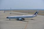 鱚楽鯛遊さんが、中部国際空港で撮影したキャセイパシフィック航空 A330-343Xの航空フォト(写真)