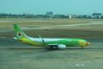 シフォンさんが、タンソンニャット国際空港で撮影したノックエア 737-86Nの航空フォト(写真)