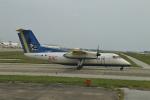 O-TOTOさんが、那覇空港で撮影した琉球エアーコミューター DHC-8-103Q Dash 8の航空フォト(写真)