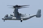 Wings Flapさんが、中部国際空港で撮影したアメリカ海兵隊 MV-22Bの航空フォト(写真)