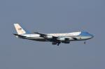 じゃまちゃんさんが、横田基地で撮影したアメリカ空軍 VC-25A (747-2G4B)の航空フォト(写真)
