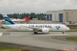 SC34さんが、ペインフィールド空港で撮影したエール・オーストラル 787-8 Dreamlinerの航空フォト(写真)