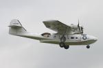 りんたろうさんが、コスフォード空軍基地で撮影したイギリス個人所有 PBY-5A Catalinaの航空フォト(写真)