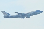 Wings Flapさんが、中部国際空港で撮影したアメリカ空軍 VC-25A (747-2G4B)の航空フォト(写真)