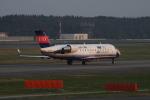 しかばねさんが、成田国際空港で撮影したアイベックスエアラインズ CL-600-2B19 Regional Jet CRJ-200ERの航空フォト(写真)