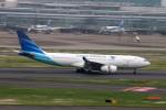 コバトンさんが、羽田空港で撮影したガルーダ・インドネシア航空 A330-243の航空フォト(写真)