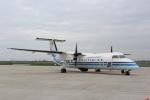 すやまさんが、米子空港で撮影した海上保安庁 DHC-8-315Q Dash 8の航空フォト(写真)
