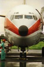 kumagorouさんが、宮古空港で撮影した南西航空 737-2Q3/Advの航空フォト(写真)