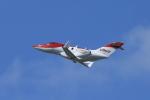 GO-01さんが、成田国際空港で撮影したホンダ・エアクラフト・カンパニー HA-420の航空フォト(写真)