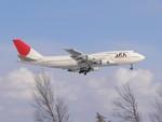 JET STREAMさんが、新千歳空港で撮影した日本アジア航空 747-346の航空フォト(写真)