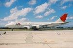 ゴンタさんが、那覇空港で撮影した日本航空 747-146B/SR/SUDの航空フォト(写真)