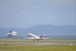 あっしーさんが、北九州空港で撮影したJALエクスプレス MD-81 (DC-9-81)の航空フォト(写真)