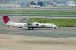 ヤスシさんが、福岡空港で撮影した日本エアコミューター DHC-8-402Q Dash 8の航空フォト(写真)