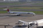しかばねさんが、羽田空港で撮影した日本航空 MD-81 (DC-9-81)の航空フォト(写真)