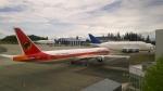 romyさんが、ペインフィールド空港で撮影したTAAGアンゴラ航空 777-3M2/ERの航空フォト(写真)