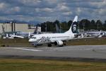 romyさんが、ペインフィールド空港で撮影したアラスカ航空 737-790の航空フォト(写真)
